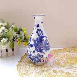 Antique Blue and White Vase